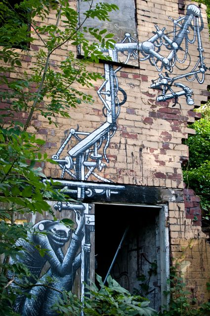 2. Brick by Brick.  Phlegm -  Sheffield 2012