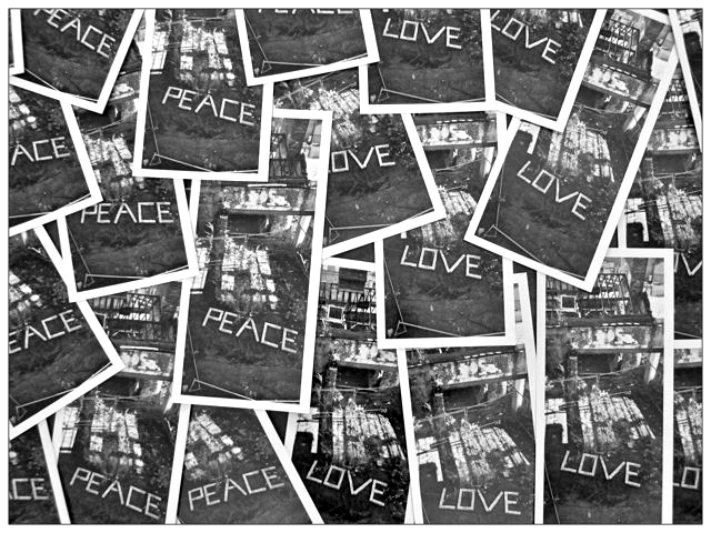 2. Peace and Love Postcards