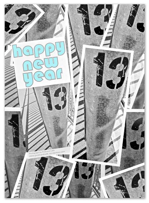 Happy New Year 2013 - Postcard