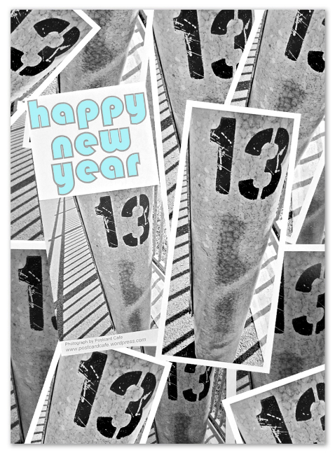 Happy New Year 2013 - Postcard