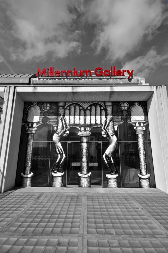 Phlegm Millennium Gallery.  Sheffield 2013