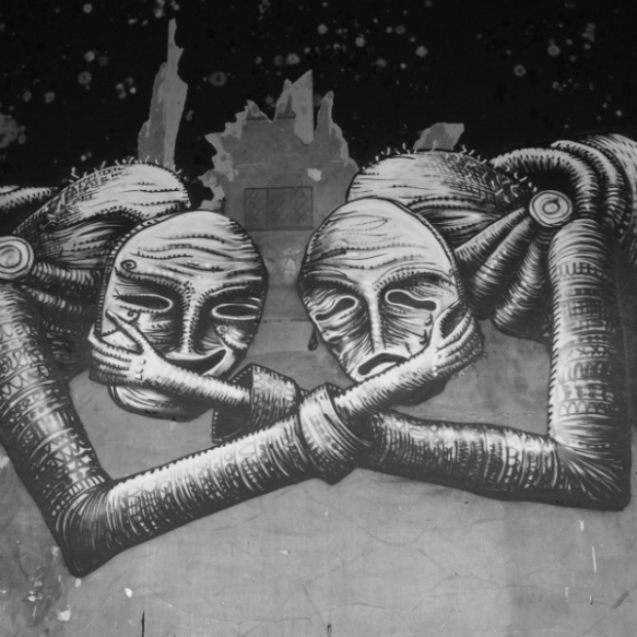 1. Comedy and Tragedy.  Phlegm.  Sheffield May 2013