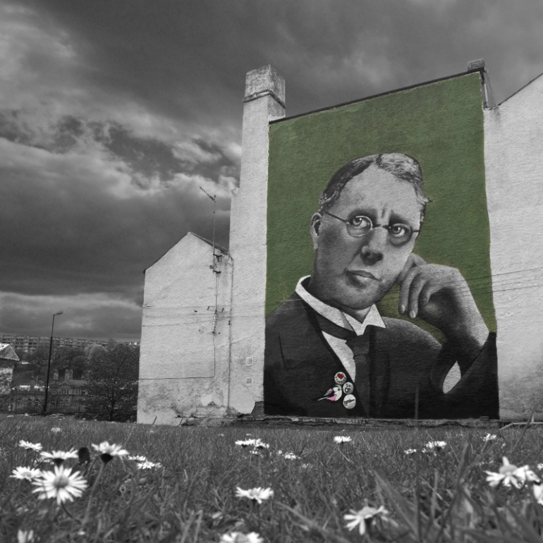 Harry Brearley by Faunagraphic.  Sheffield May 2013