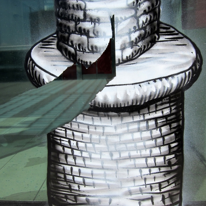 Damaged - Phlegm Artwork at Millennium Gallery Sheffield