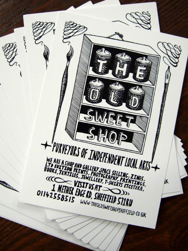 TOSS8 The Old Sweet Shop Flyer