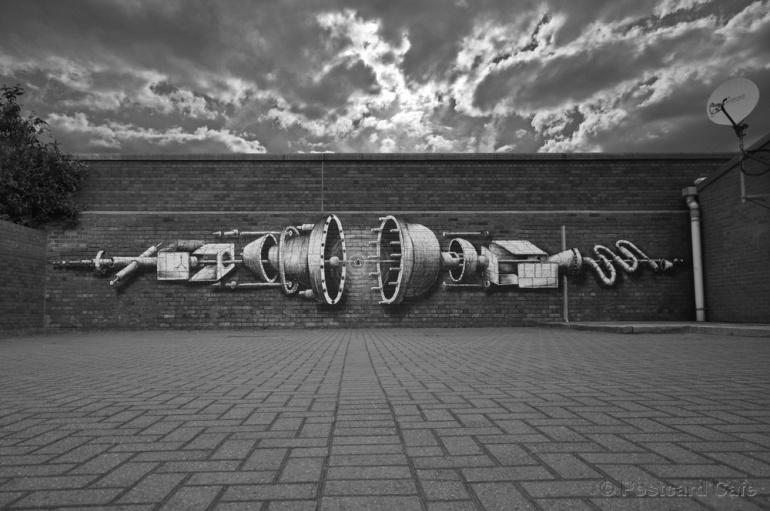 1. Internal Parts.  Phlegm Sheffield 2013