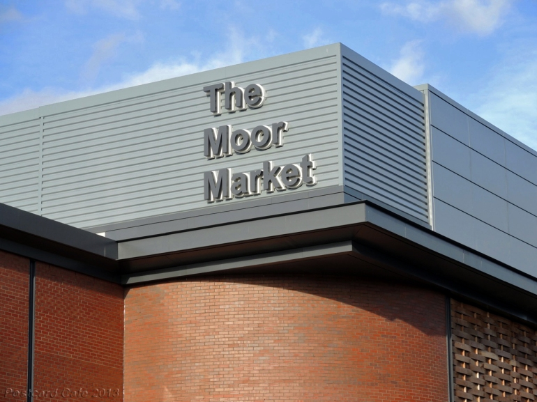 Moor Market Sheffield 2013