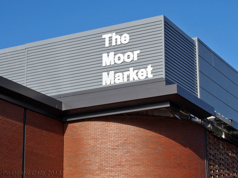 The Moor Market.  Sheffield 2013