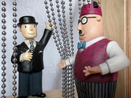 Mr Benn & Shop Keeper