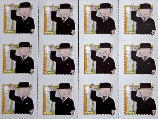 Mr Benn Stamps