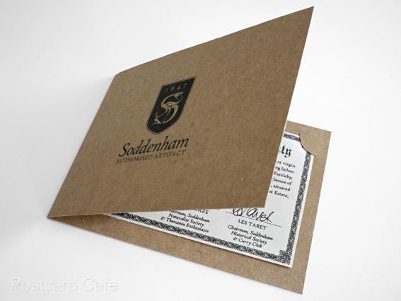 12. Soddenham - Limited Edition Authorised Artifact