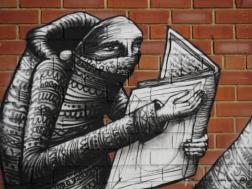 5. Phlegm | Rare & Racy, Devonshire Street, Sheffield - 2015