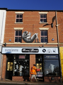 8. Phlegm | Rare & Racy, Devonshire Street, Sheffield - 2015