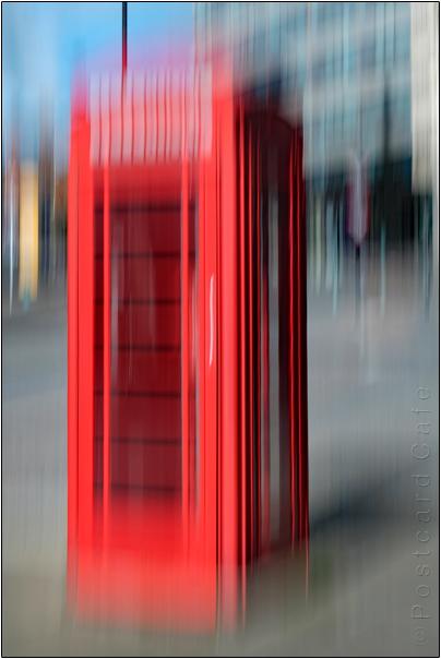 Phone Box | Fargate Shefield | ©Postcard Cafe 2016