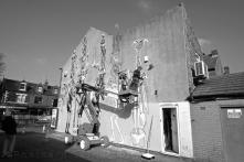 1. Work in Progress | Phlegm on Snuff Mill Lane | Sheffield 26 October 2016 | Open Door | © Postcard Cafe (sdscf1208e)