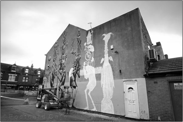 Work in Progress | Phlegm on Snuff Mill Lane | Sheffield 26 October 2016 | © Postcard Cafe (sdscf1216e)