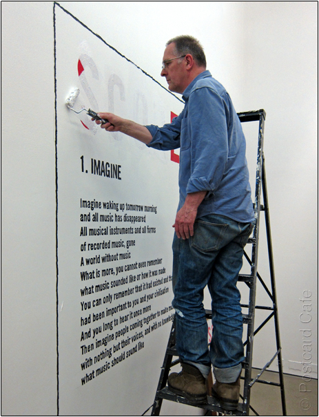 Bill Drummond | Site Gallery Sheffield | 5 May 2012 | © Postcard Cafe