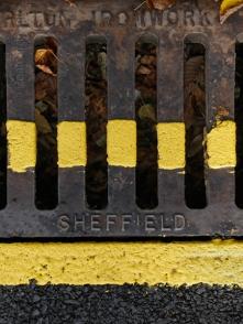 2. Road Markings | Sheffield | October 2016 | © Postcard Cafe