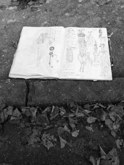 3. Work in Progress | Phlegm on Snuff Mill Lane | Sheffield 26 October 2016 | Sketch Book | © Postcard Cafe (sp1000503e)