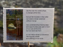 4. Words by Dan on the River Don | Sheffield | November 2016 | © Postcard Cafe (sp1000874)
