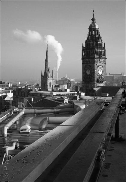 Sheffield Town Hall | 16 January 2102 | © Postcard Cafe  (simg_0435e)