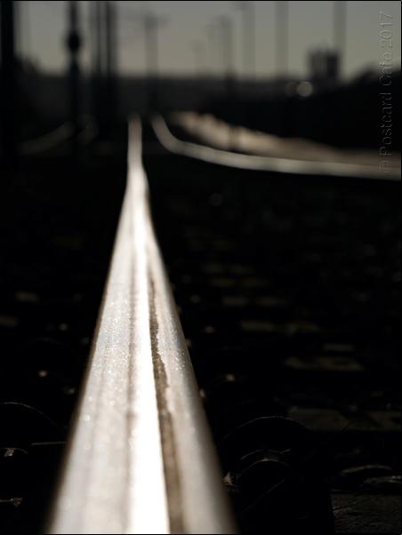 Tram Tracks | Sheffield 01.01.2017 | © Postcard Cafe 2017  (sp1010236e)
