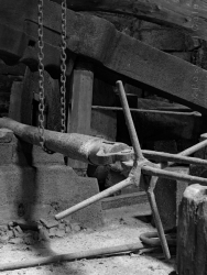 4. Wortley Top Forge 2017 | Forged Axle and Handling Tools | © Postcard Cafe | SP1030143E