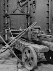 8. Wortley Top Forge 2017 | Hand Cart (with pre-forged iron bars) | © Postcard Cafe | SP1030163E