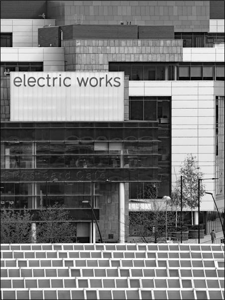 1. Electric Works Sheffield | Volume 2 | © Postcard Cafe | SP1020293E PC B&W