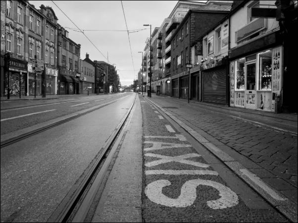 Sheffield S1 | West Street | © Postcard Cafe 2019 | SP1000155