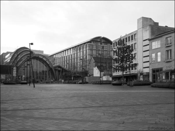 Sheffield S1 | Tudor Square | © Postcard Cafe 2019 | SP1000197