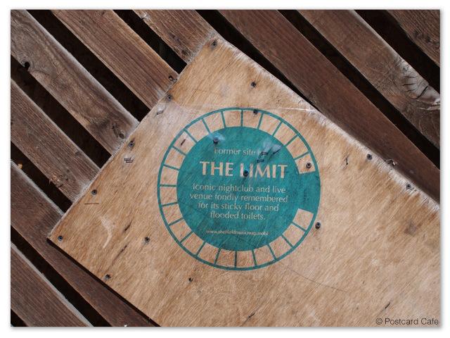The Limit Blue Plaque | Sheffield 2013 | © Postcard Cafe