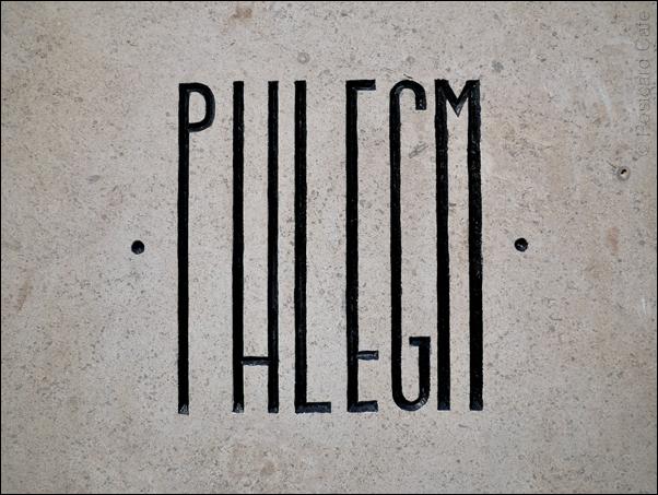 Phlegm | Mausoleum of The Giants | Headstone | Eye Witness Works | © Postcard Cafe 2019 SP1000764E