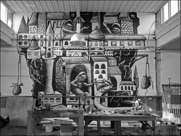 2. Giant Interlude | Vintage Phlegm from 2010 | © Postcard Cafe 2019 | SP1000827B&WE