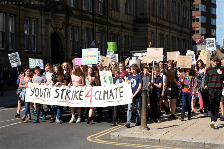 10. Youth Strike 4 Climate Sheffield 20th September 2019 | © Postcard Cafe | SDSCF0555E