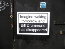 1. 2010 – 2020 Retrospective | Street Art Vol. 1 | Bill Drummond Disappeared? Poster | 2 May 2011