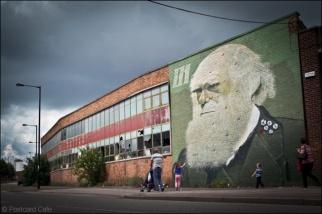 1. 2010 – 2020 Retrospective | Street Art Vol. 2 | Darwin by Rocket01 Sheffield 4 July 2012