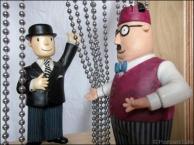 5. 2010 – 2020 Retrospective | But is it Art? | Mr Benn and Shopkeeper | January 2014