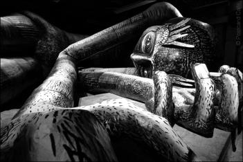 3. 2010 – 2020 Retrospective | Sculptural | Mausoleum Of The Giants by Phlegm April 2019