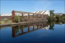 7. 2010 – 2020 Retrospective | Architecture | Broken Industrial | Canal Sheffield | September 2019