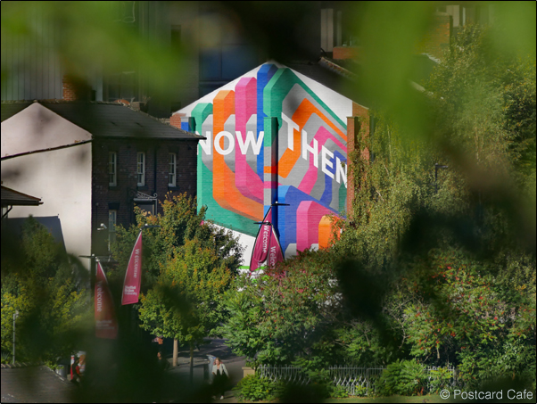 9. 2010 – 2020 Retrospective | Street Art Vol. 2 | Now Then mural by Rob Lee Sheffield October 2018sp1070111e Oct 2018