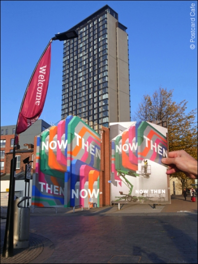 10. 2010 – 2020 Retrospective | Street Art Vol. 2 | Now Then mural by Rob Lee Sheffield October 2018sp1070421e Oct 2018