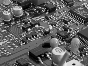 11. 2010 – 2020 Retrospective | In Mono | Circuit board for cordless telephone answer machine base unit | January 2015